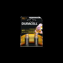 BATERII DURACELL 1.5V AA R6...