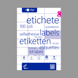 ETICHETE 12/A4 RO-CLIPS...
