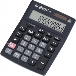 CALCULATOR 12 DIG MIC GLOBOX