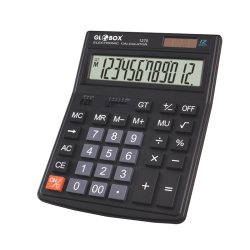 CALCULATOR 12 DIG GLOBOX 1270