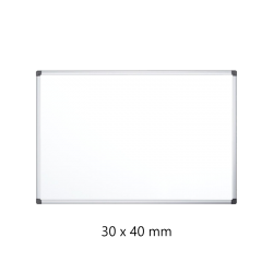 WHITEBOARD MAGNETIC 30X40CM